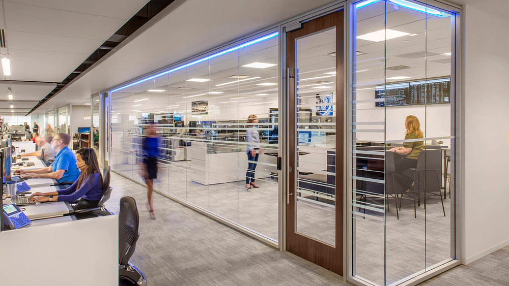 EDF North American Headquarters, Houston     Photography © Thomas McConnell.