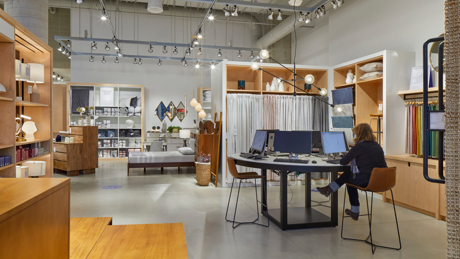 The West Elm store in Toronto
