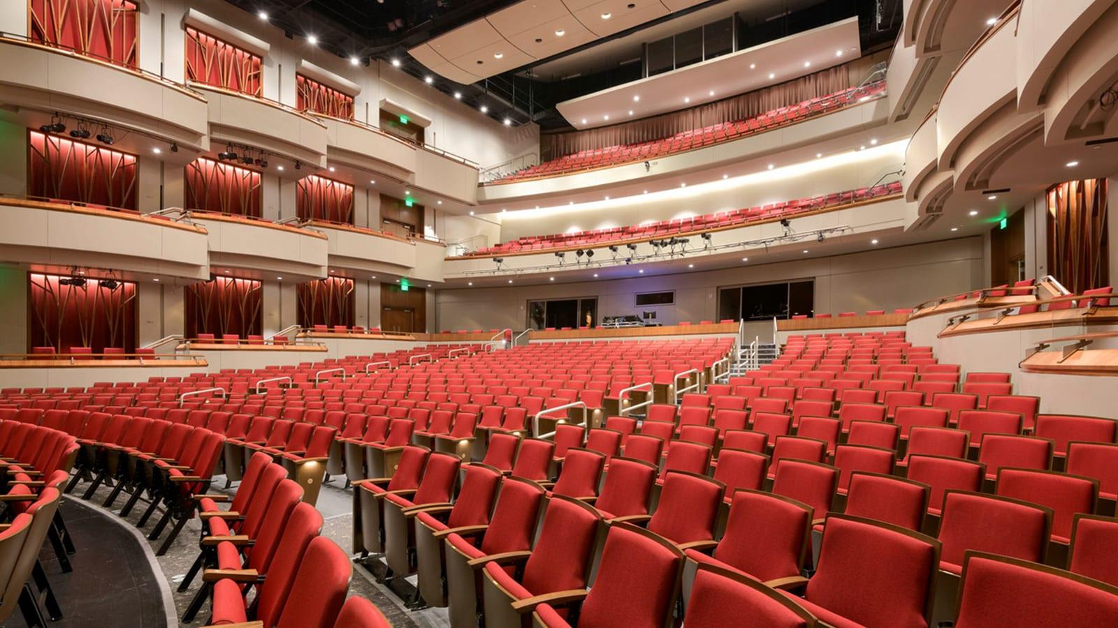 Sandy Springs City Center Auditorium Seating