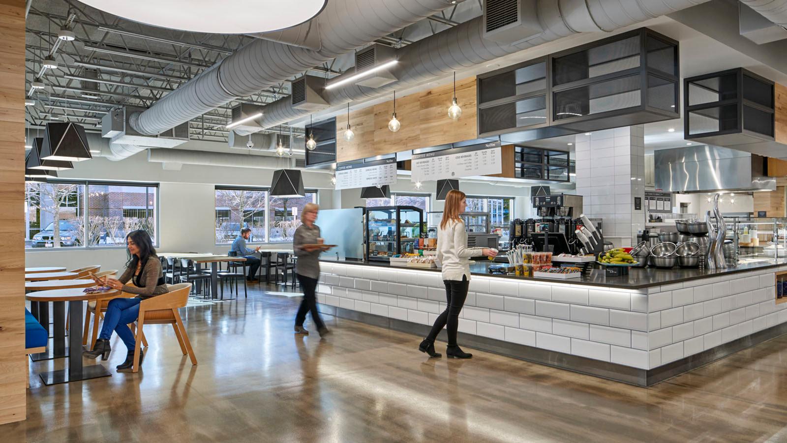 Sun Life Financial food service workplace