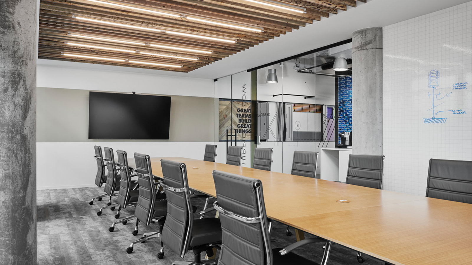 DPR Construction conference room