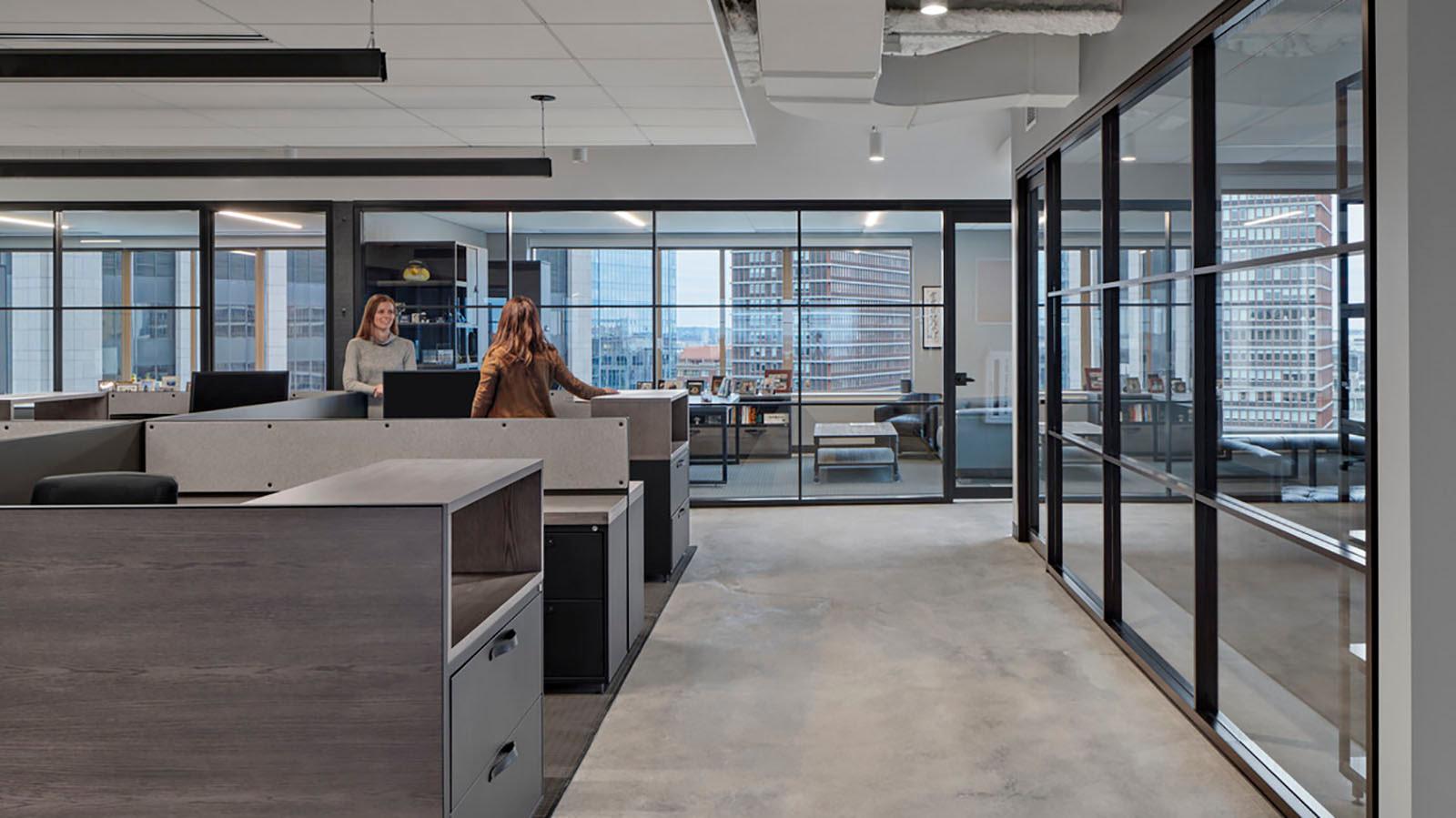 Silversmith office area