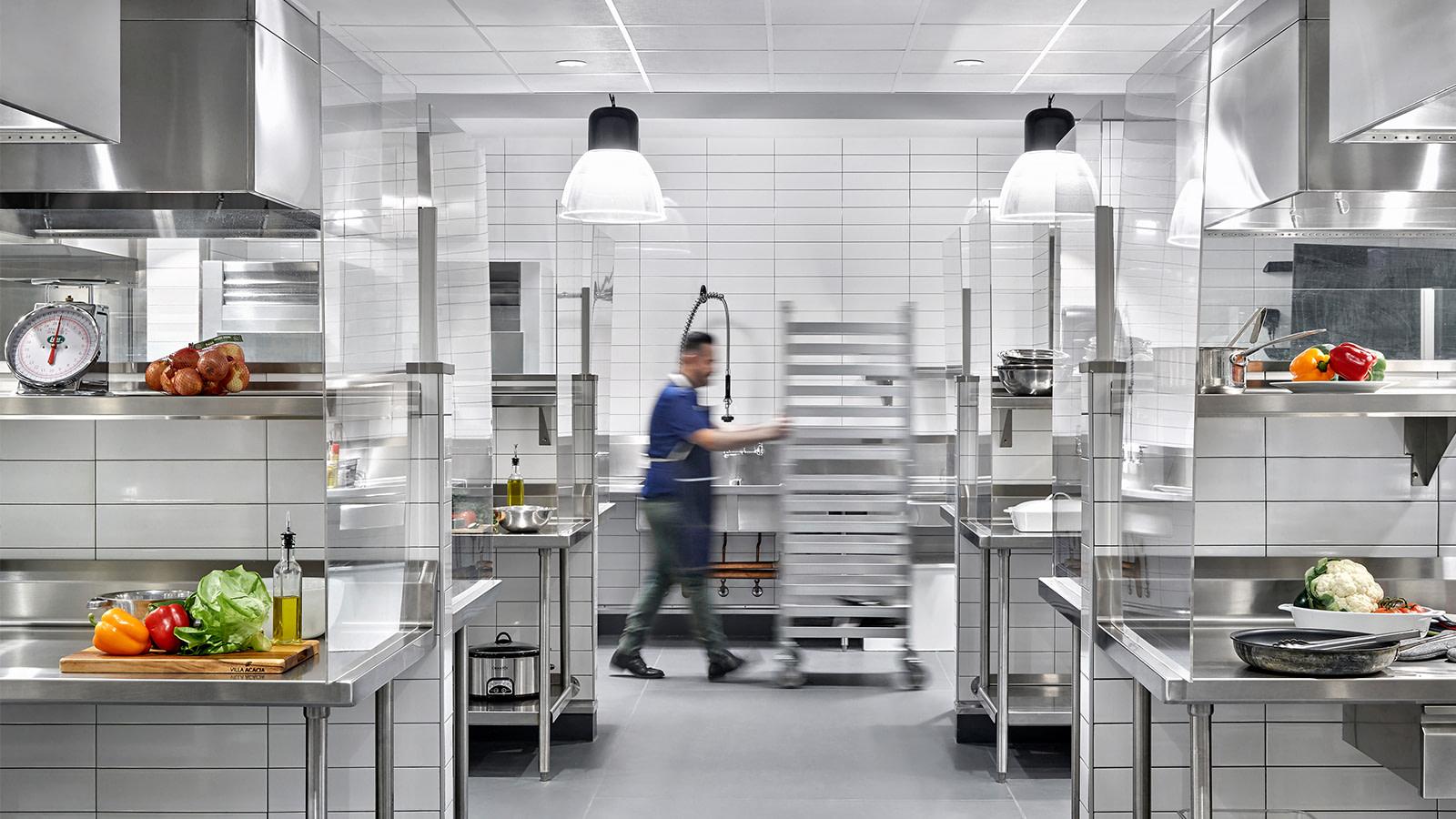 Home Chef test kitchen