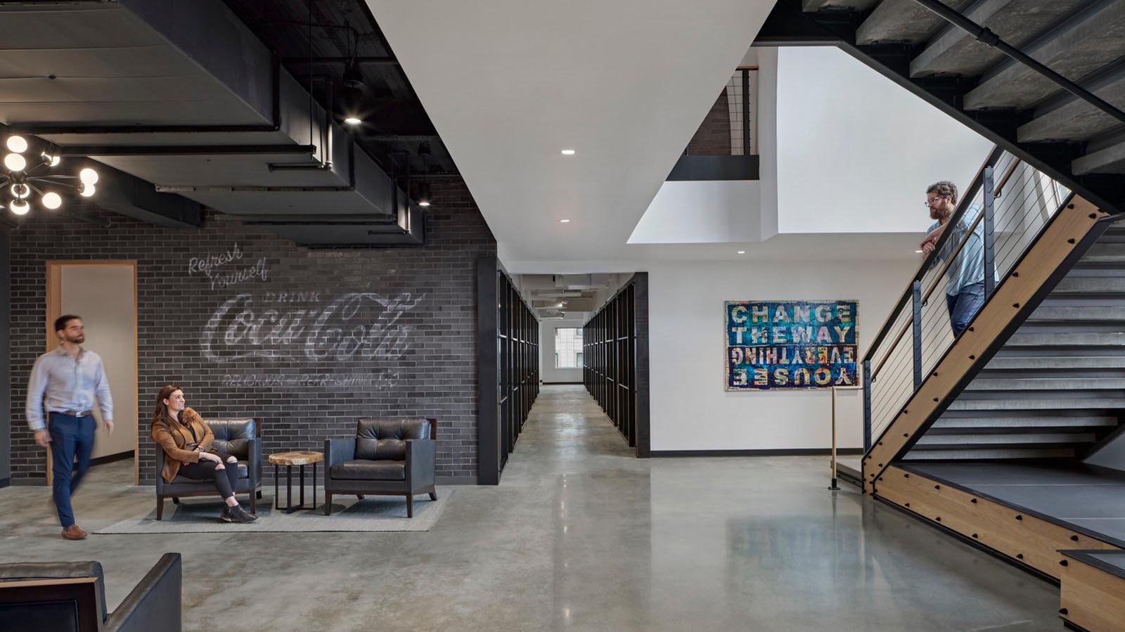 Silversmith EGD walls by reception