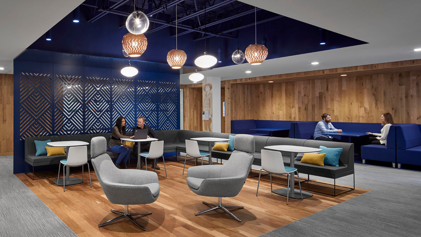 Sun Life Wellesley seating and reception