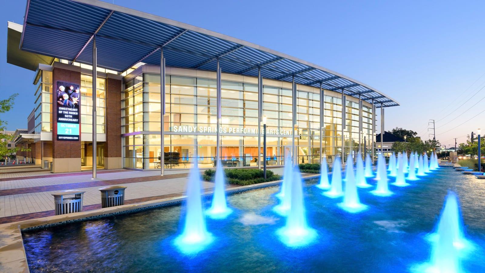 Exterior of Sandy Springs City Center