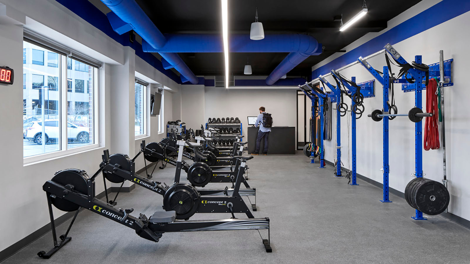 Exercise space at Sun Life Financial