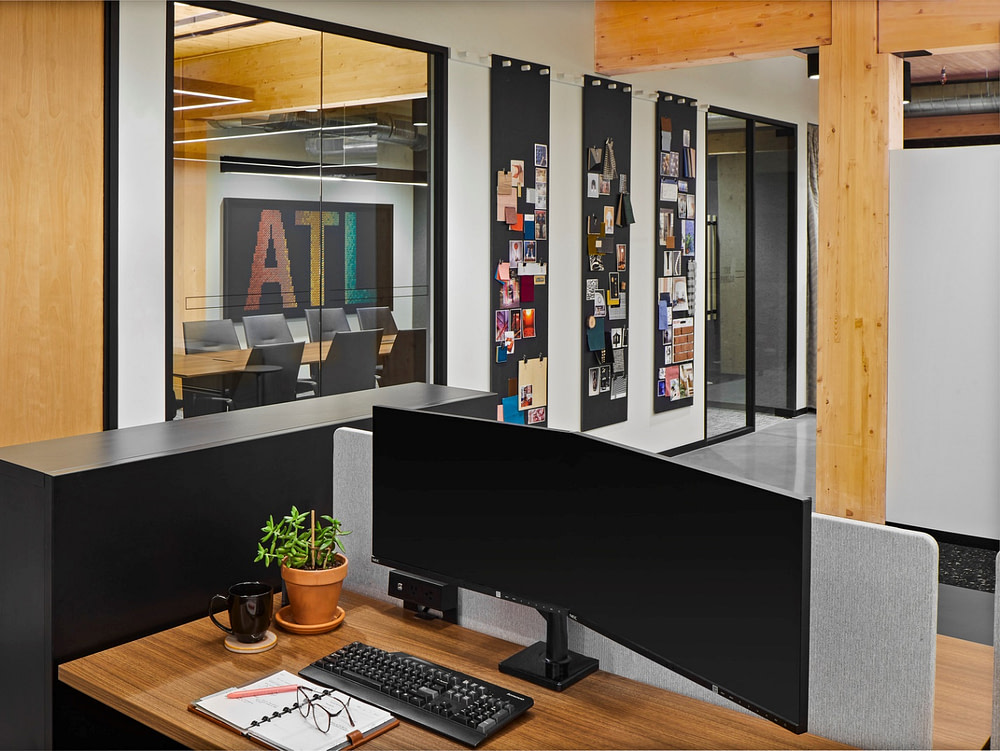 IA Interior Architects work space