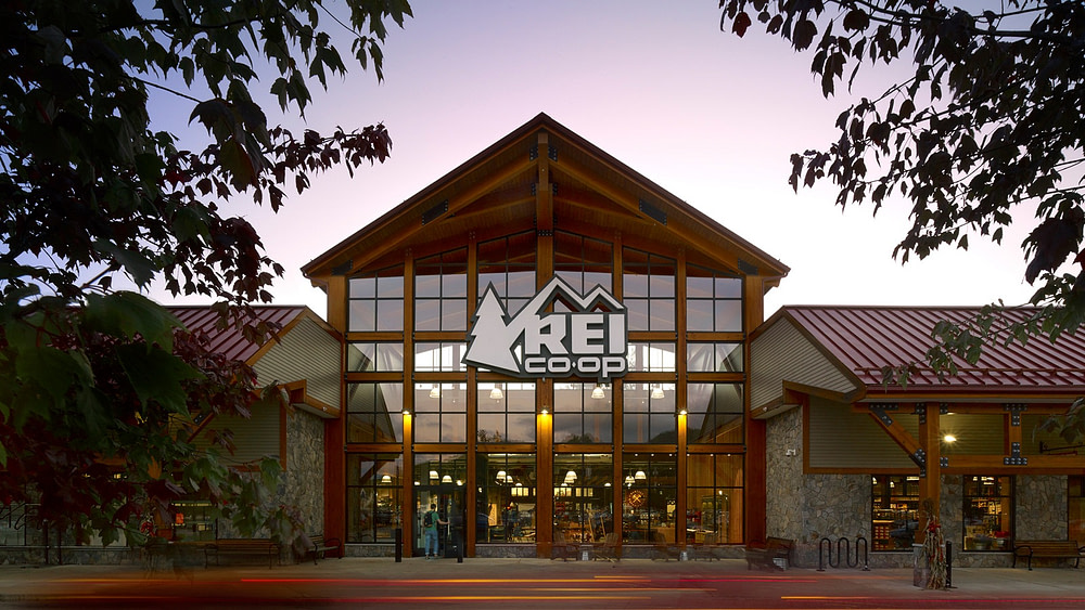 REI, North Conway NH exterior
