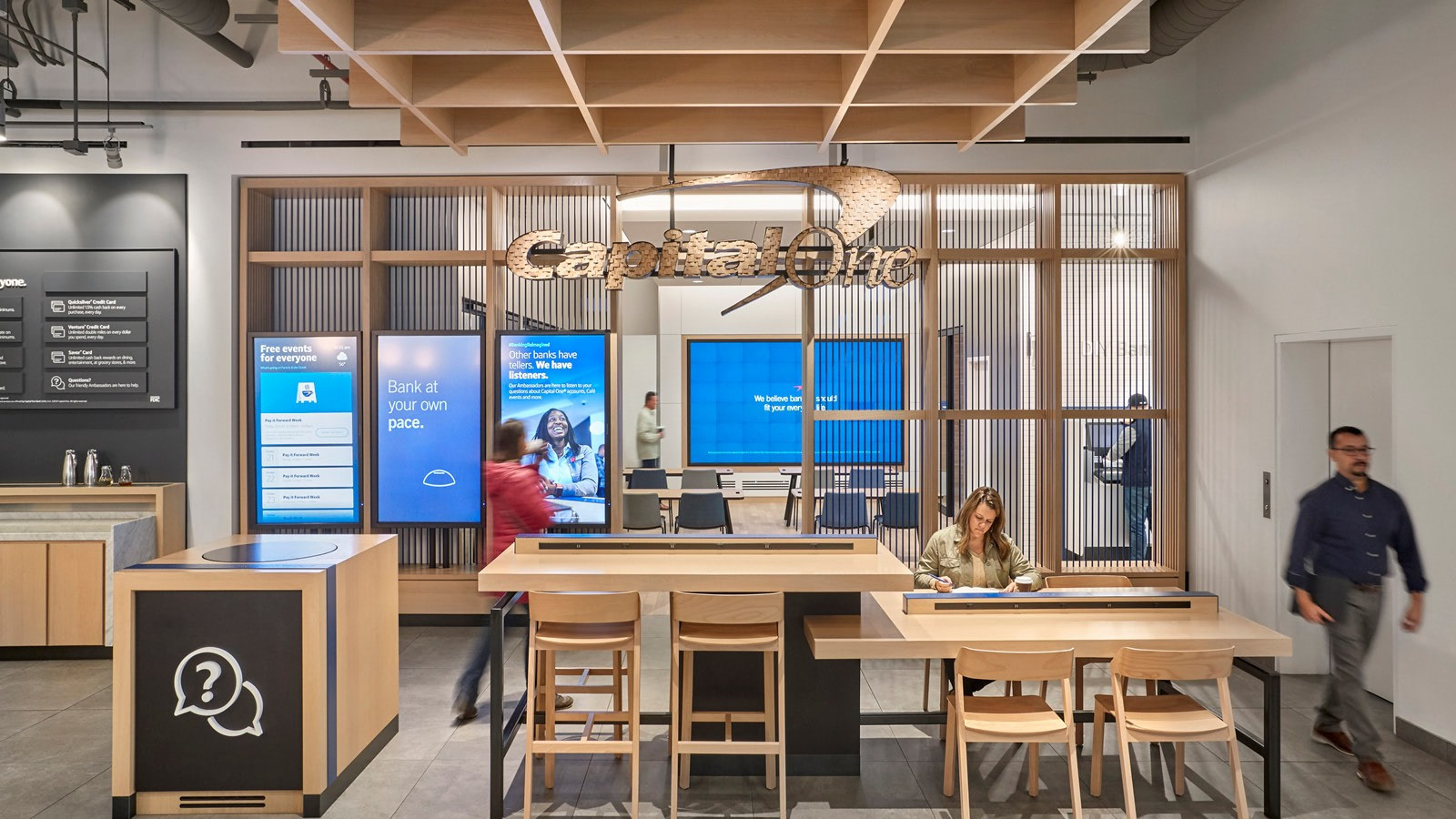 Capital One Café at 100 State Street