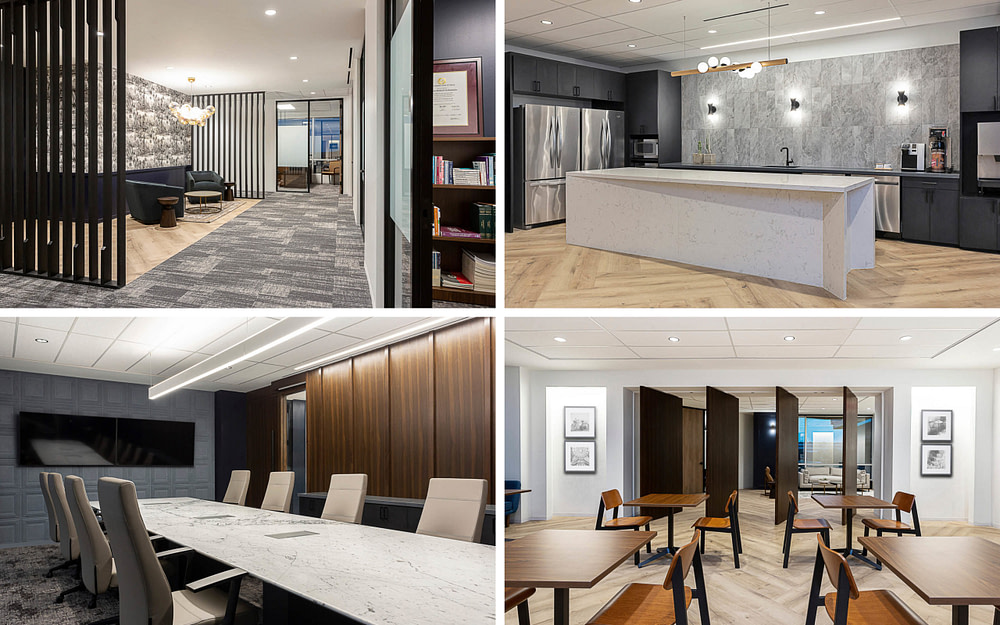 The office reception area at Germer Beaman and Brown, PLLC