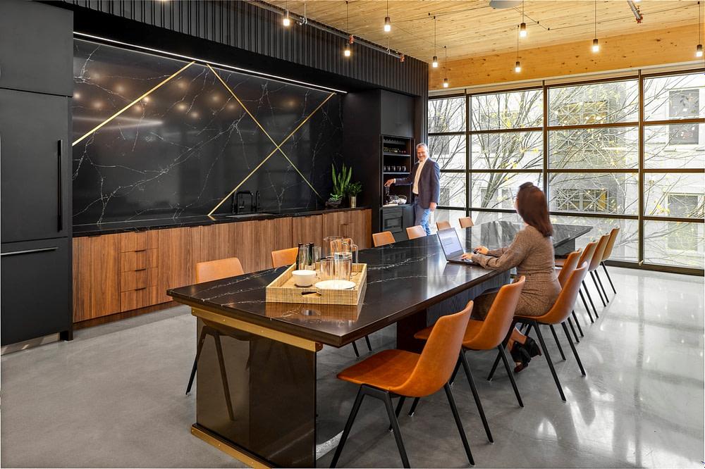 A conference area at IA's studio in Atlanta.