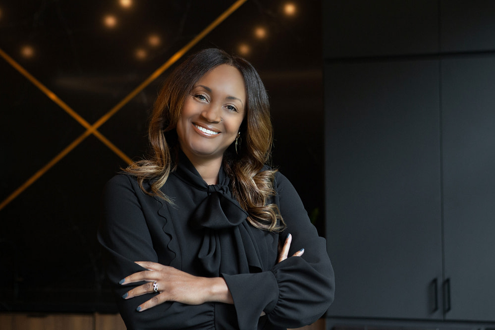 Kimberlyn Daniel, IA's first Chief People | Diversity, Equity and Inclusion Officer.