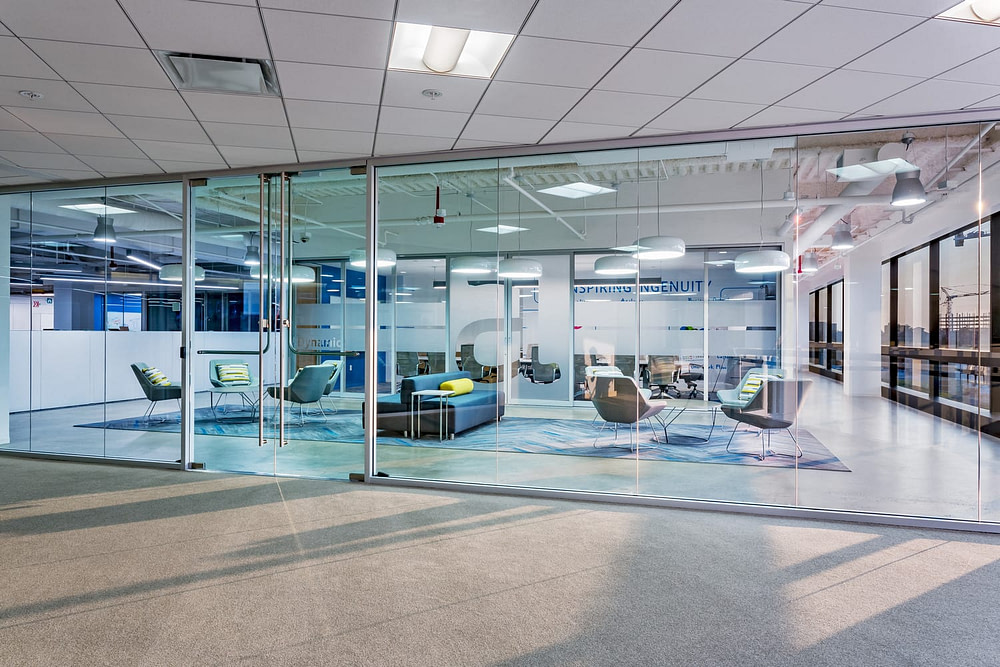 One of two suites at the Alteryx Headquarters.