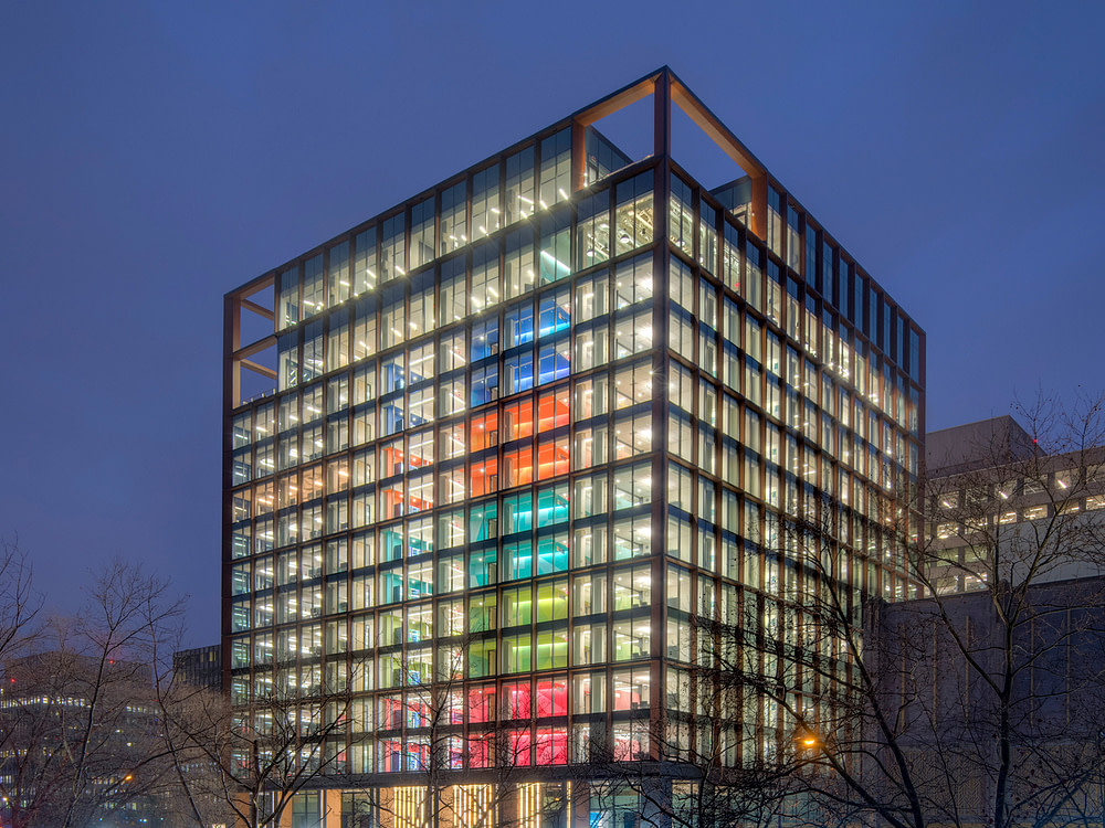 Exterior view of Crystal City office space