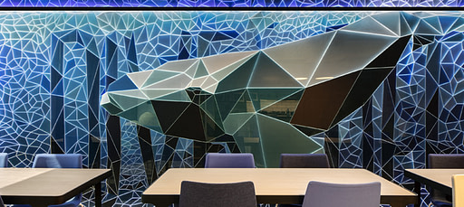 Whale wall egd in Cape Town office space