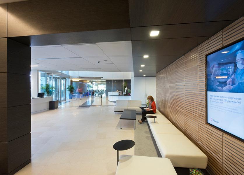 Polycom Headquarters in Pleasanton, California. Photo by Chad Ziemendorf.