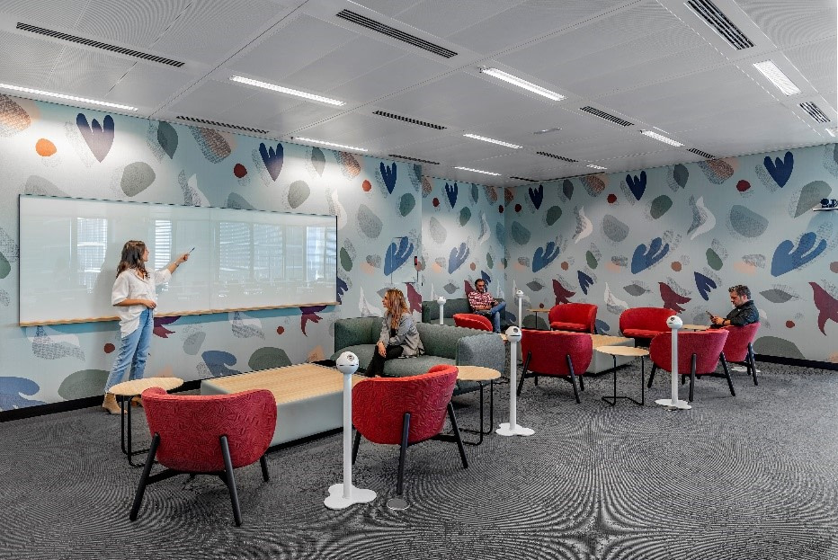 The corporate learning space of a confidential IA client