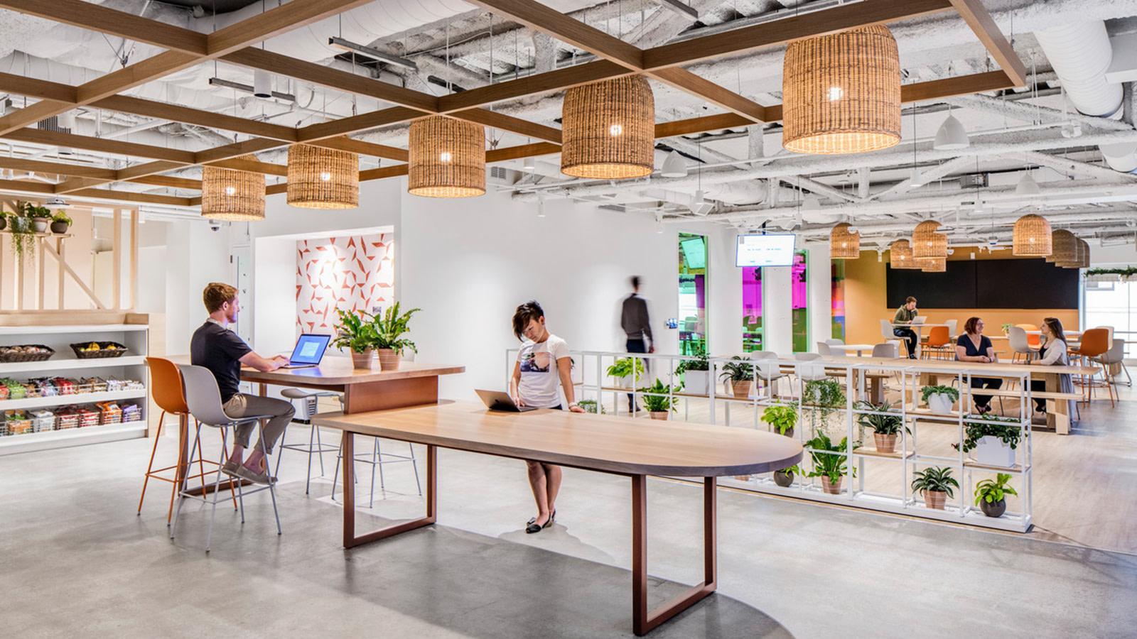 An alternative work space in San Francisco