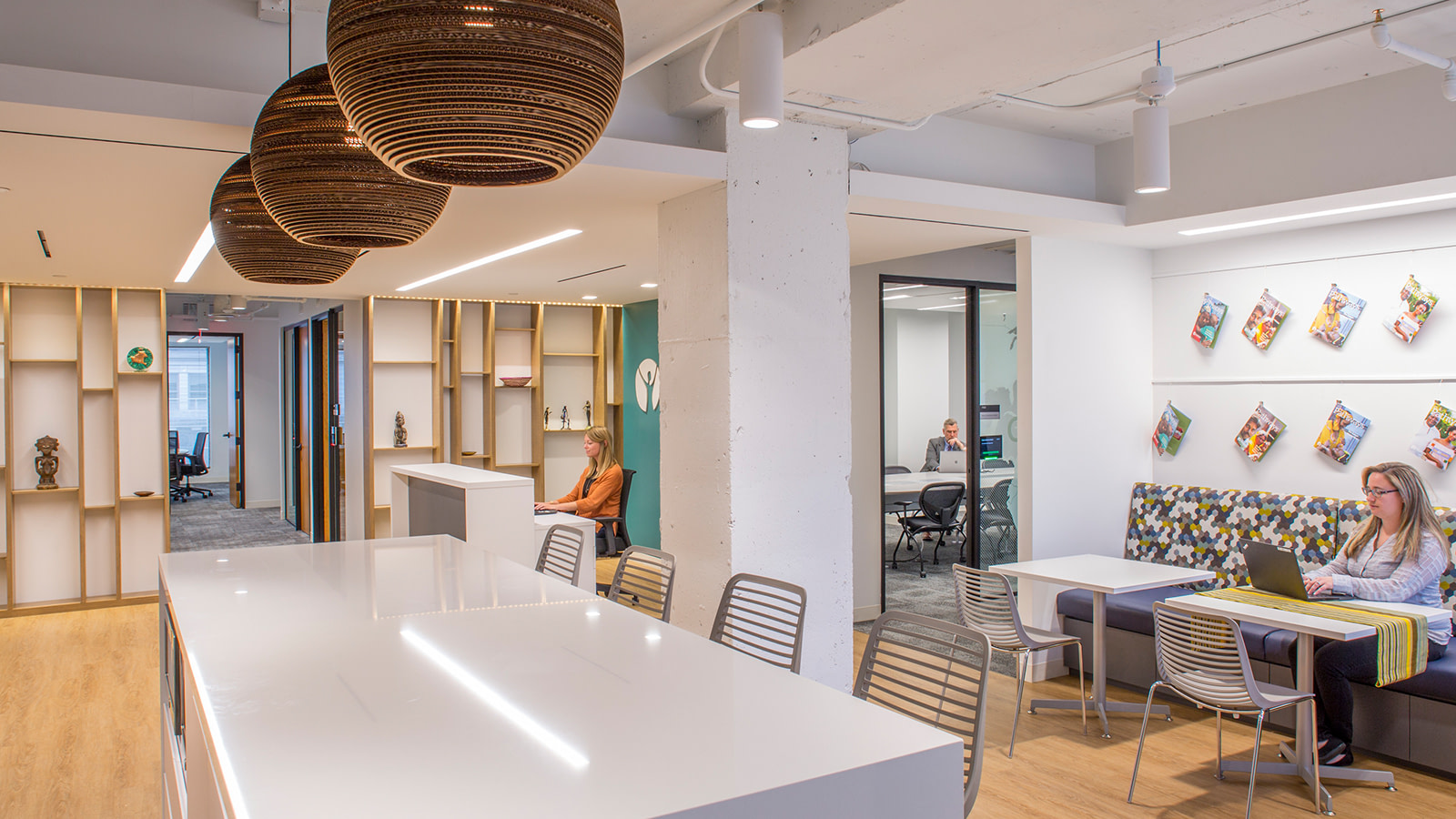 Meeting space at a global non-profit
