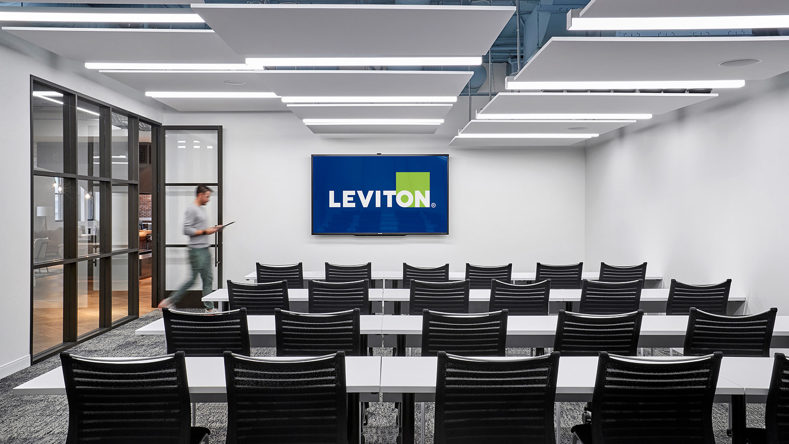 Leviton training and conference space