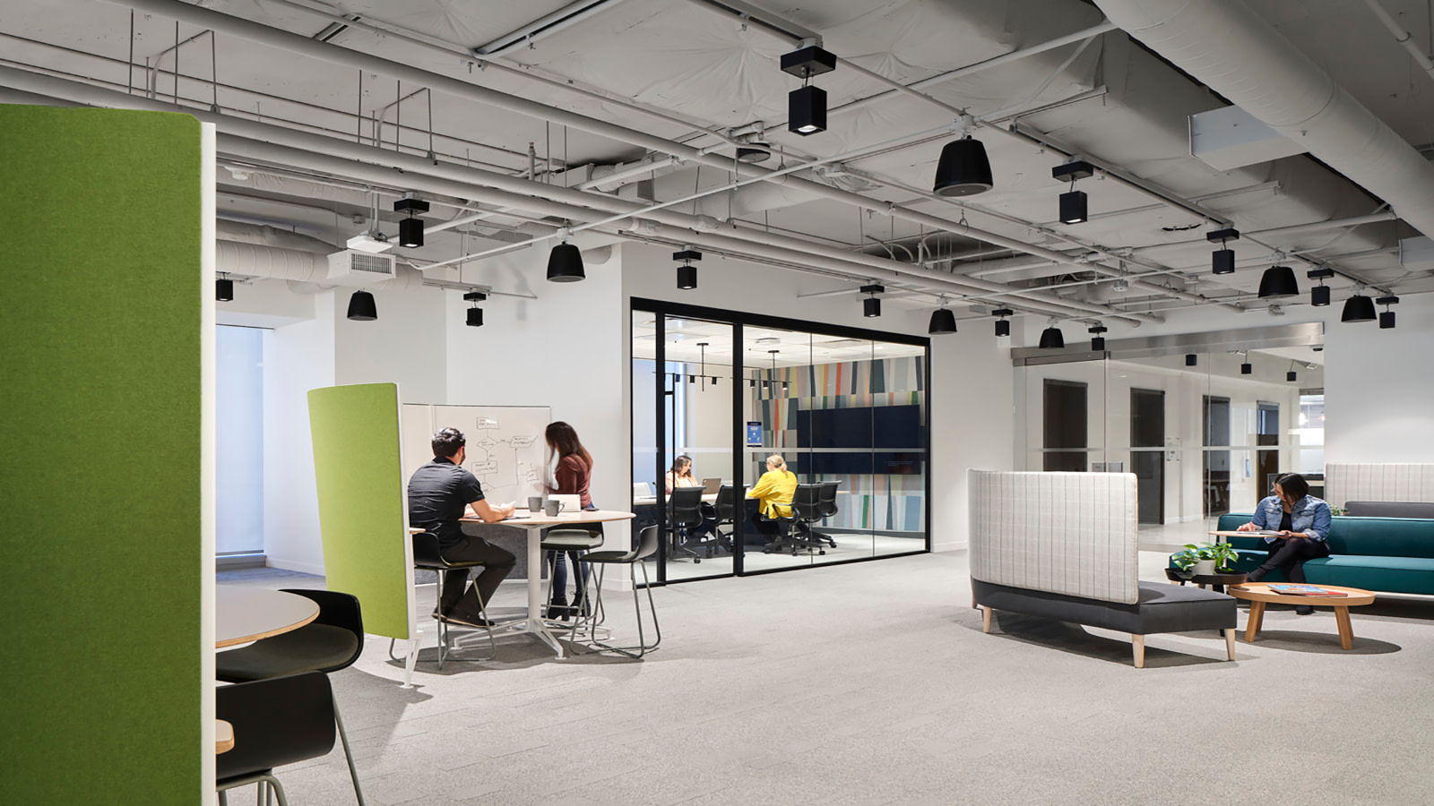 OMERS open office space