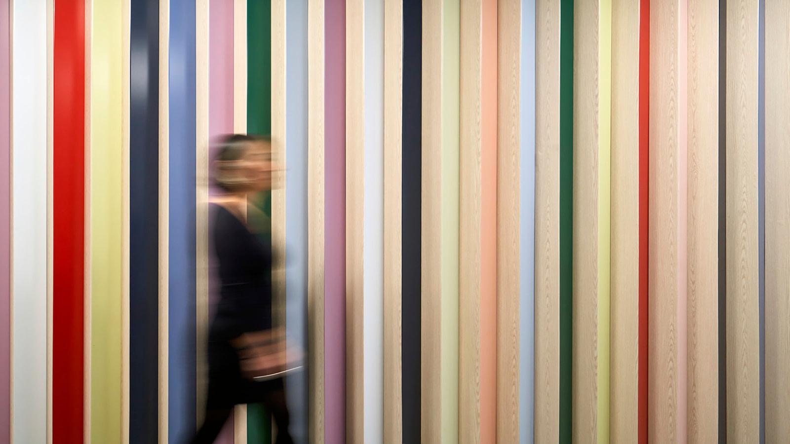 Colorful EGD wall display