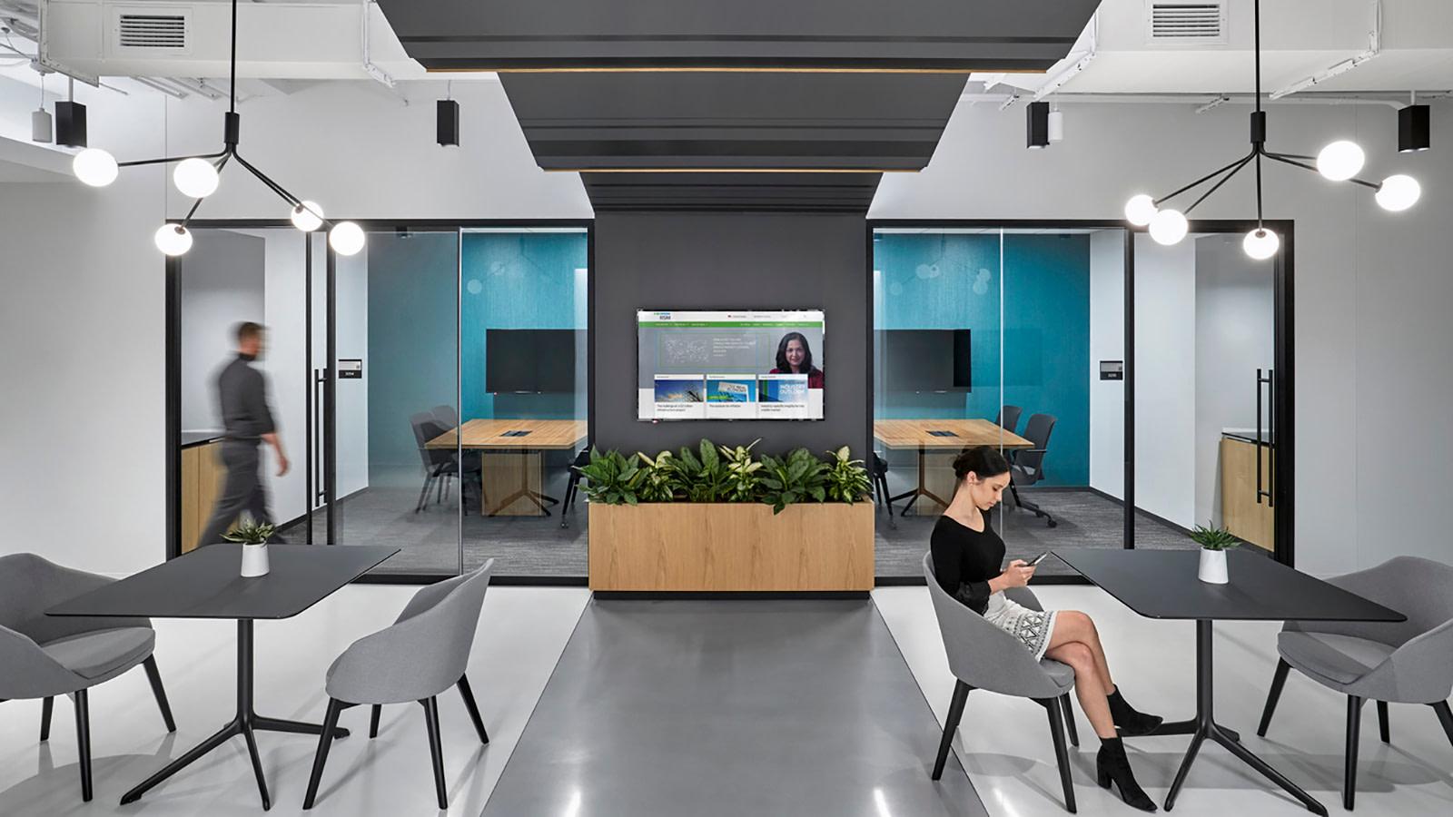 Large meeting spaces at RSM.