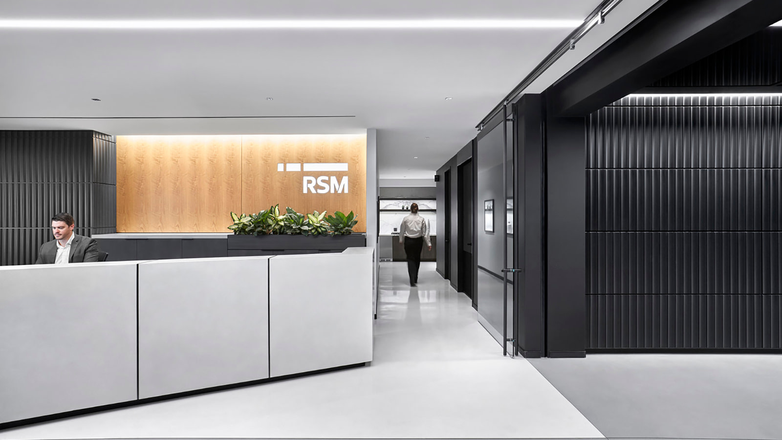 RSM Reception area and lobby