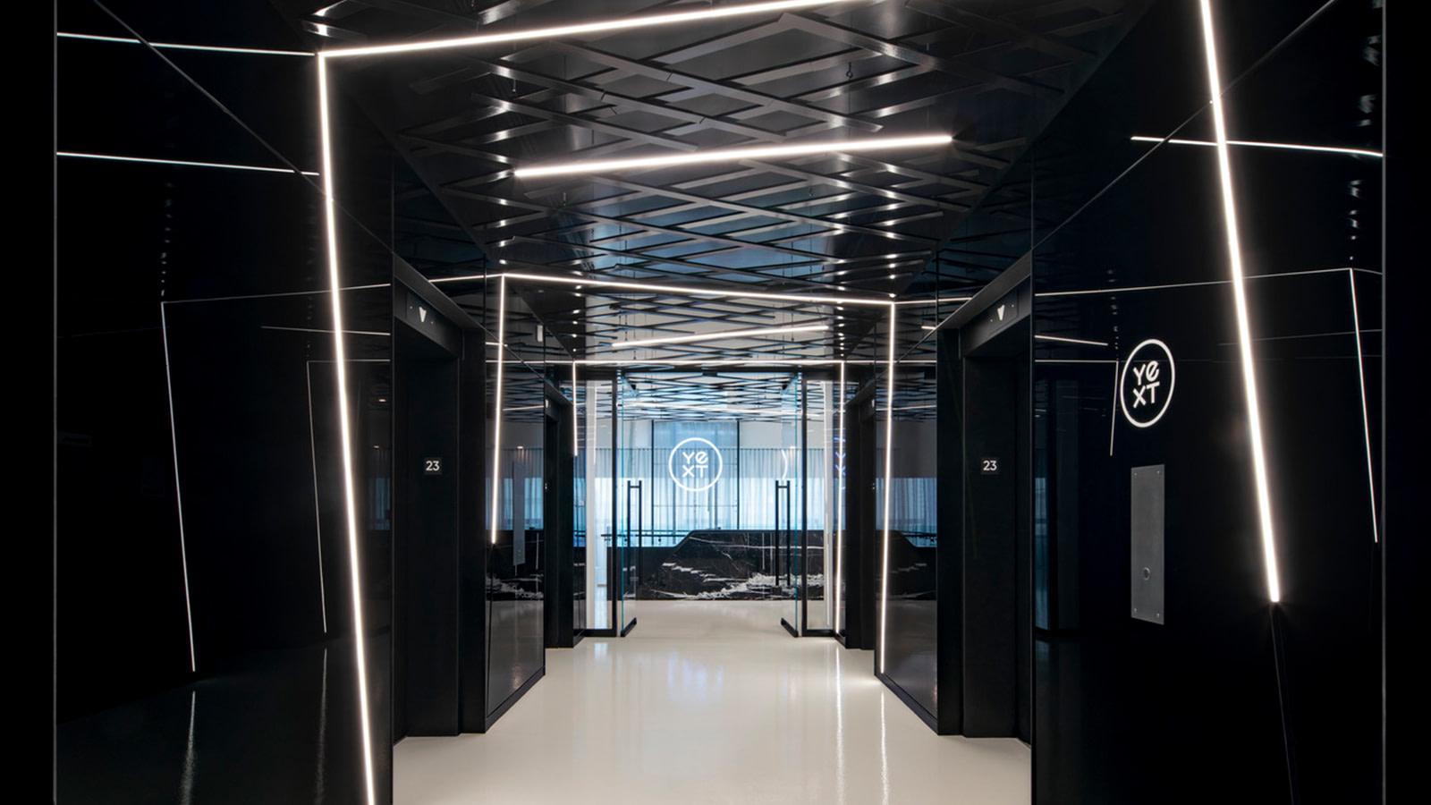 Yext Elevator Lobby.