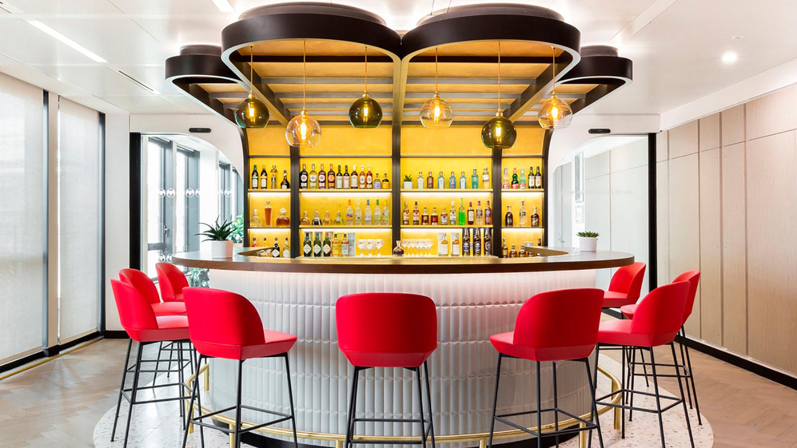 Bacardi bar space